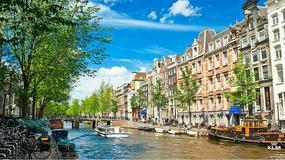 Stopover w Amsterdamie i Paryżu w drodze na wakacje