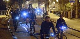 Rowerzyści zablokowali miasto