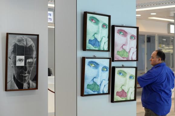 Izložba je prvi put predstavljena u Srbiji