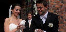 Fabiański i jego żona dobrze znają hotel w Opalenicy. W tle była szampańska zabawa