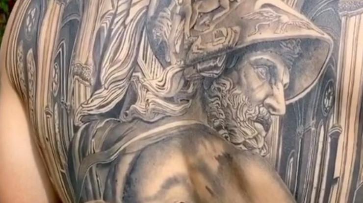 Tetovaža Marka Bartre