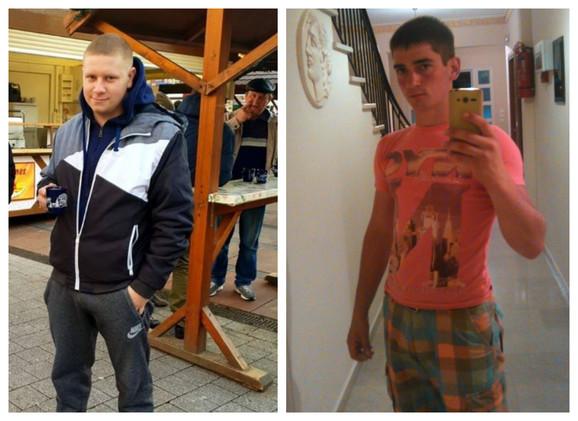 Dejan Tot (23) i njegov najbolji prijatelj i komšija Ljubomir Marinkov (25) iz Srpskog Itebeja nastradali su dok su se motorom vraćali sa krštenja