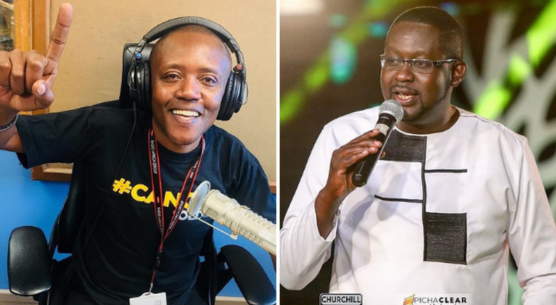 Maina and King'ang'i abruptly gagged on air from discussing top lawyer's affairs