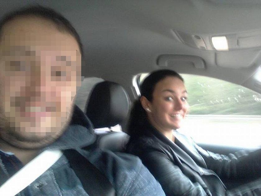 Ewa Farna w samochodzie