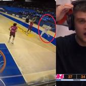 Komentator u transu, svi u hali na nogama - igrač Cibone protiv Mege rukometnim potezom dao koš PREKO CELOG TERENA! /VIDEO/