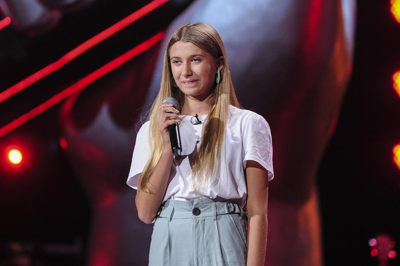 "Julia Wiśniewska w ""The Voice Kids 3"""