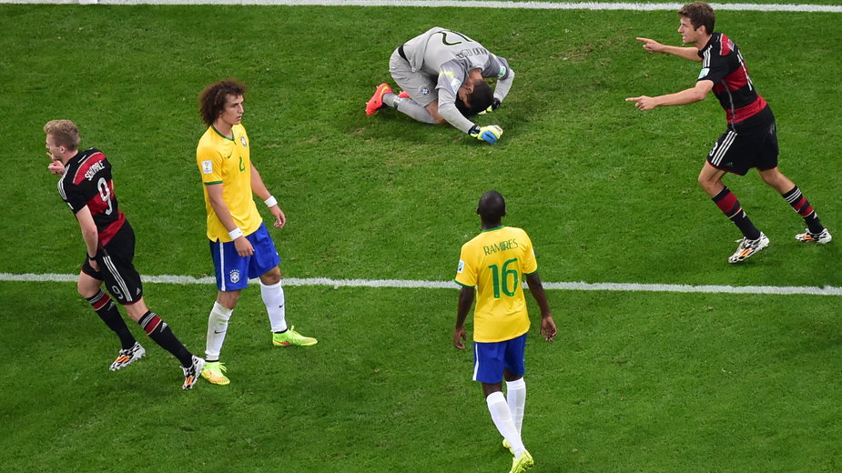 Radość Niemców i rozpacz Brazylijczyków.