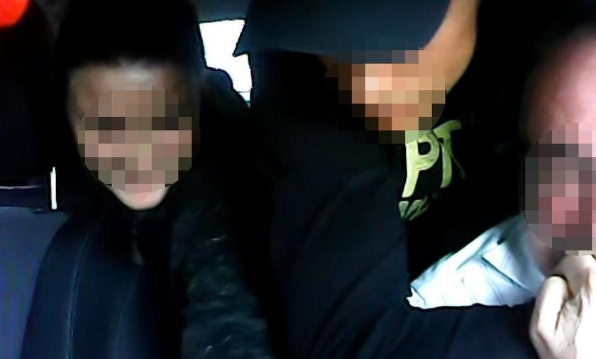 Bahaterska postawa taksówkarza z Warszawy