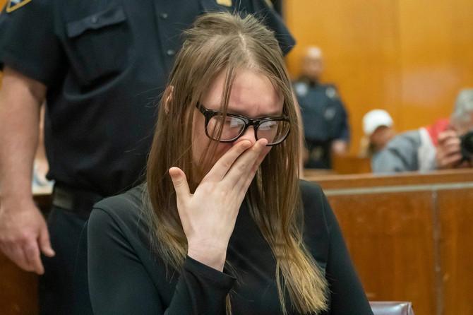 Ana Sorokin je osuđena na kaznu od 4 do 12 godina zatvora