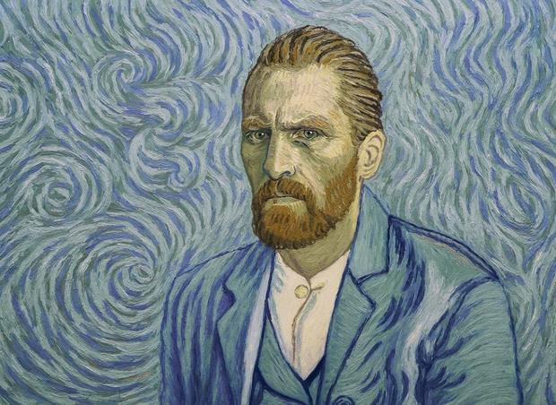 """""""Twój Vincent"""": kadr z animacji"""
