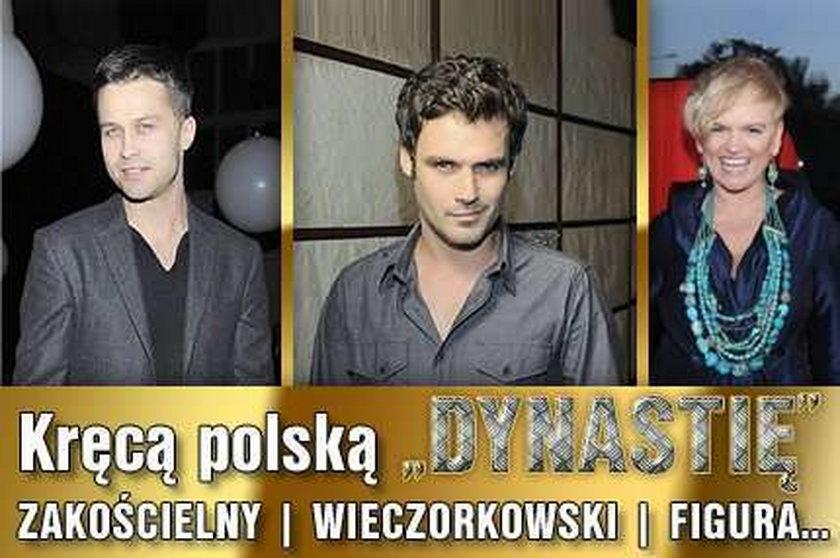 """Kręcą polską """"Dynastię"""". Zakościelny, Wieczorkowski, Figura..."""