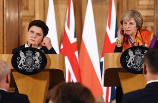 Szydło i May: Unijne sankcje wobec Rosji muszą być utrzymane