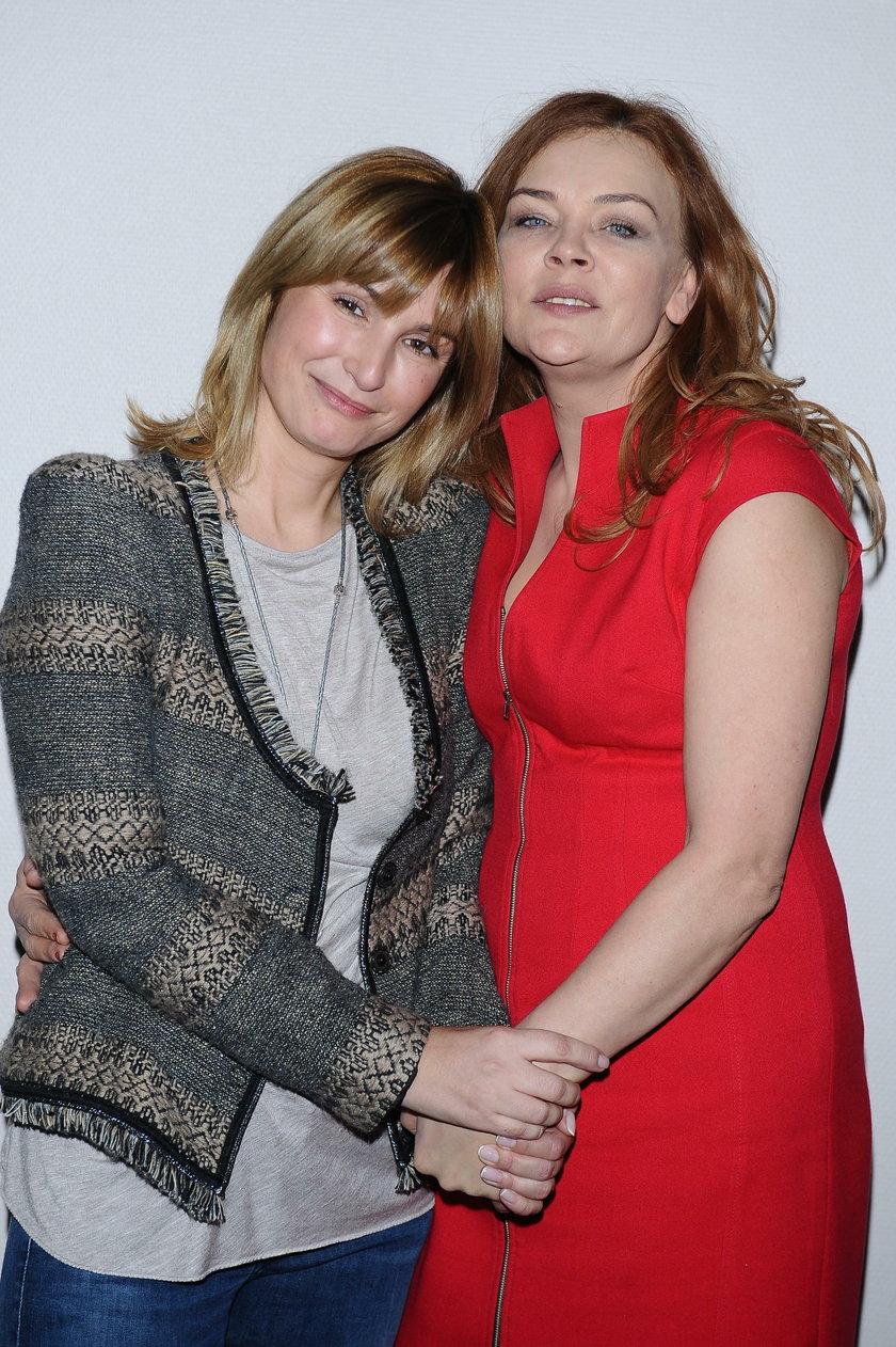Joanna Brodzik (45 l.) i Beata Kawka (51 l.)