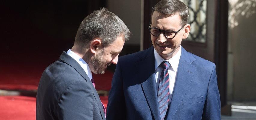 Premier Słowacji w Polsce. Wiemy, jak ugościł go Morawiecki