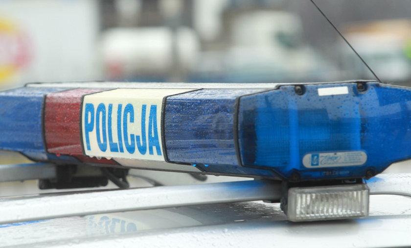 Pijana policjantka kierowała autem?