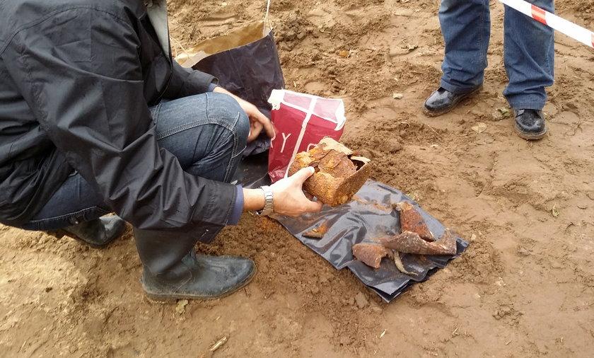 ekshumacja żołnierza września