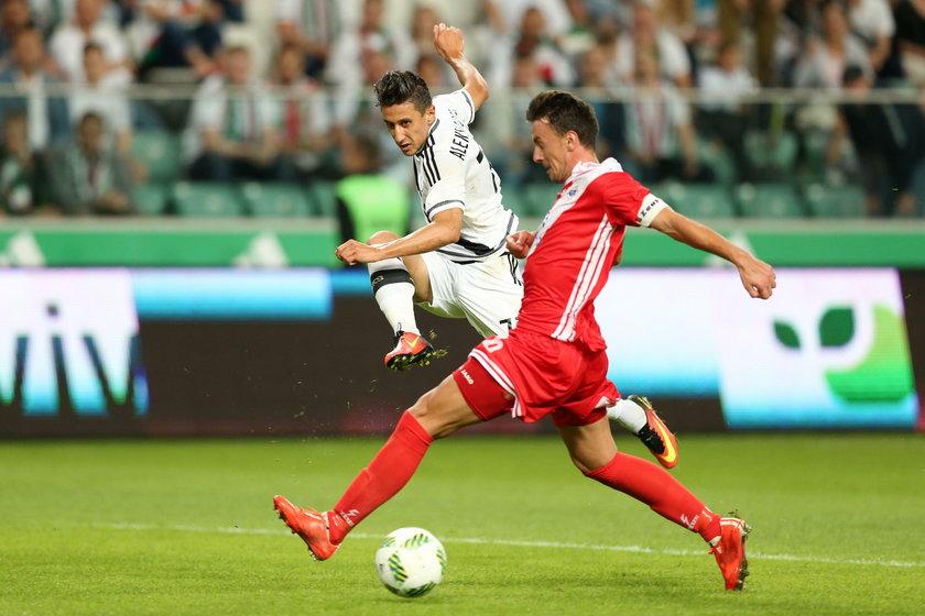 Legia Warszawa pokonała 2:0 Zrinjski Mostar w eliminacjach Ligi Mistrzów