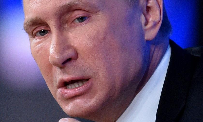 Władimir Putin prezydent Rosji