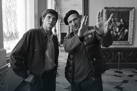 Rejf Fajns i Oleg Ivenko u Ermitažu