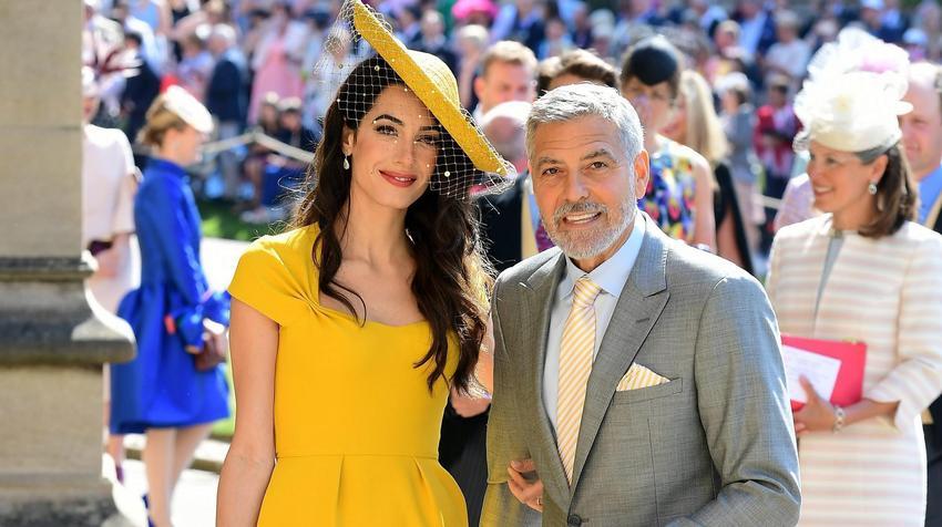 Znani Na ślubie Księcia Harryego I Meghan Markle