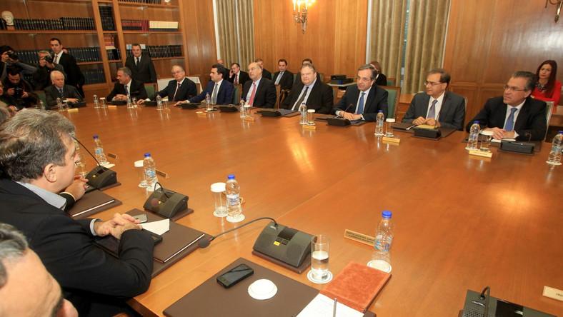 Posiedzenie greckiego rządu