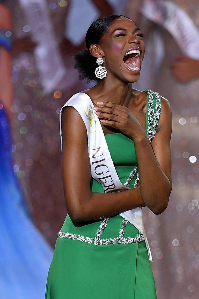 Svi pričaju o reakciji Mis Nigerije