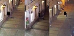 Szokujące sceny na lubelskim deptaku. Nagi mężczyzna zaatakował kobietę