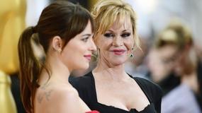 Oscary 2015: Melanie Griffith z córką na gali