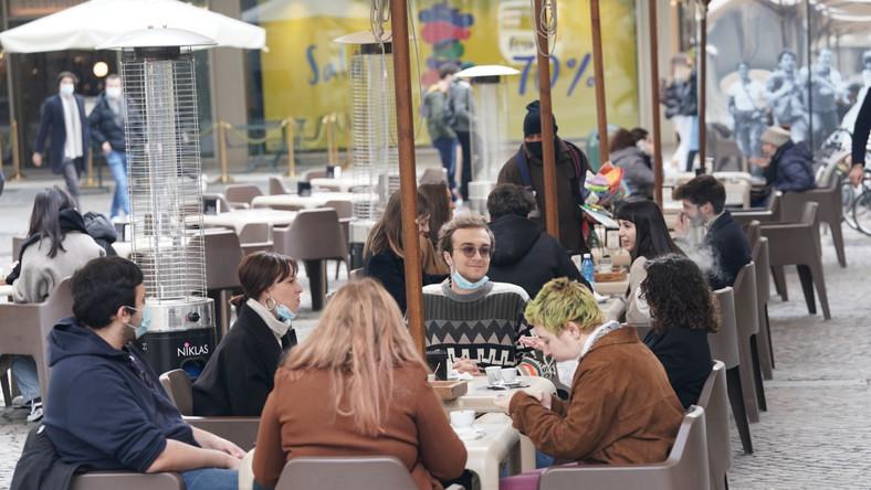 Restauracja w Turynie