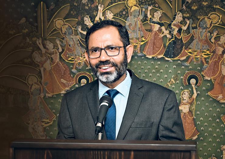Ambasador Indije u  Beogradu Subrata Batačardž