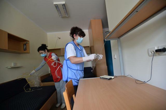 Dezinfekcija studentskih domova