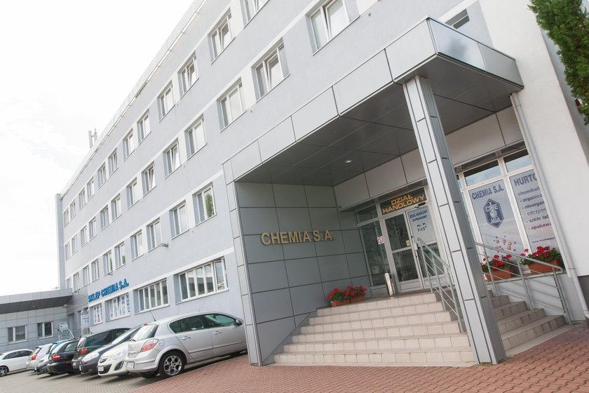 Groźne chemikalia w magazynie w Poznaniu?