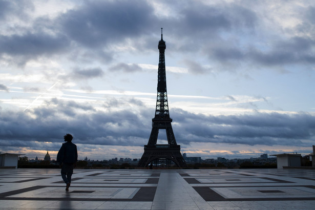 Francja, Paryż, koronawirus, lockdown