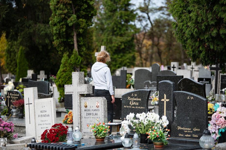 Mniej osób odwiedzi groby bliskich we Wszystkich Świętych