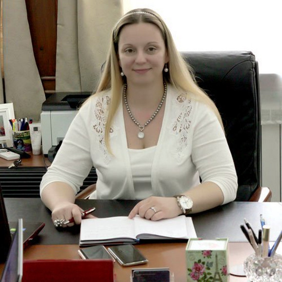Milica Marčeta Kaninski na svom radnom mestu