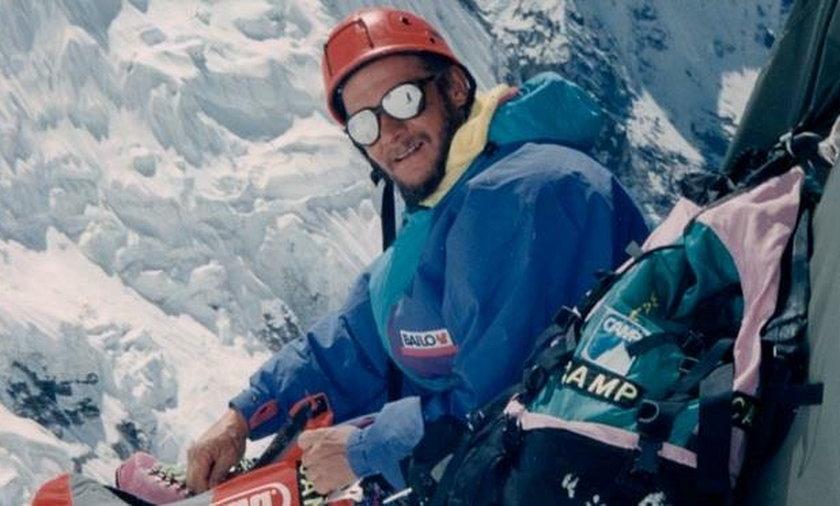 LHOTSE 1989 r. Jerzy Kukuczka
