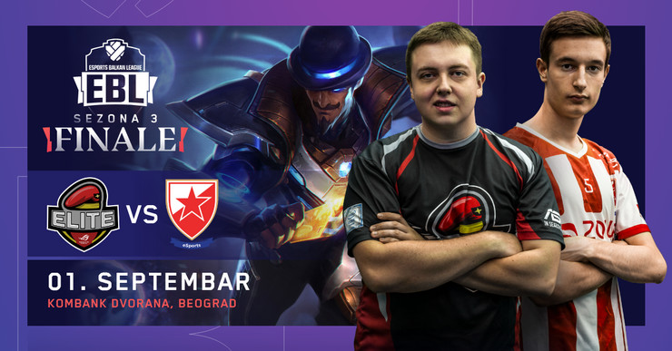Crvena zvezda, esports, Leauge of legends, video igre