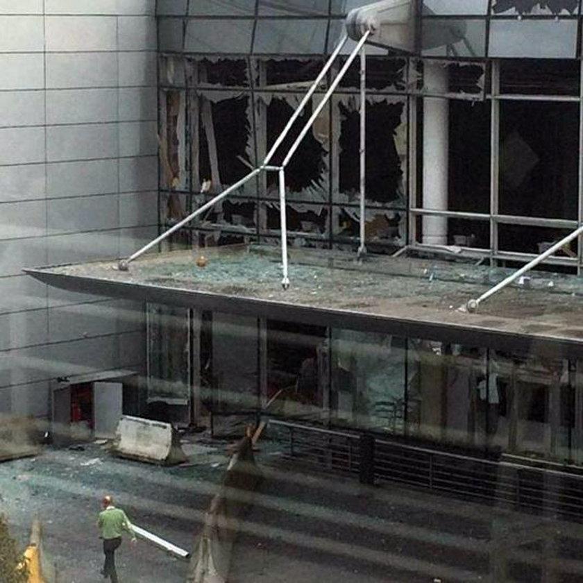 Wstrząsające zdjęcia z miejsca wybuchu
