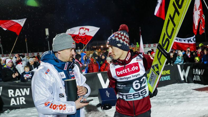 Kamil Stoch i Adam Małysz