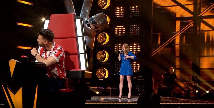 "Marianna Linde w ""The Voice of Poland"""