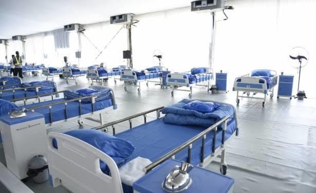 A COVID-19 isolation center in Abuja (Voice of Nigeria)