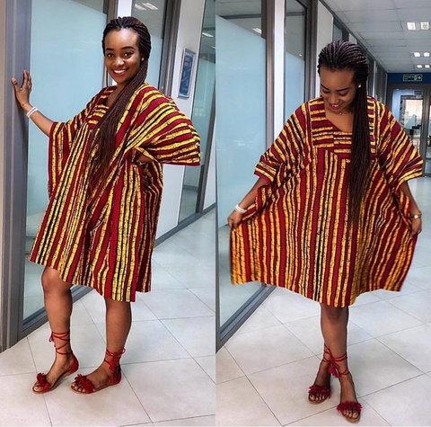 Must-have agbada ankara gowns styles for fashionable ladies  [Source: Ankarafashion.com]