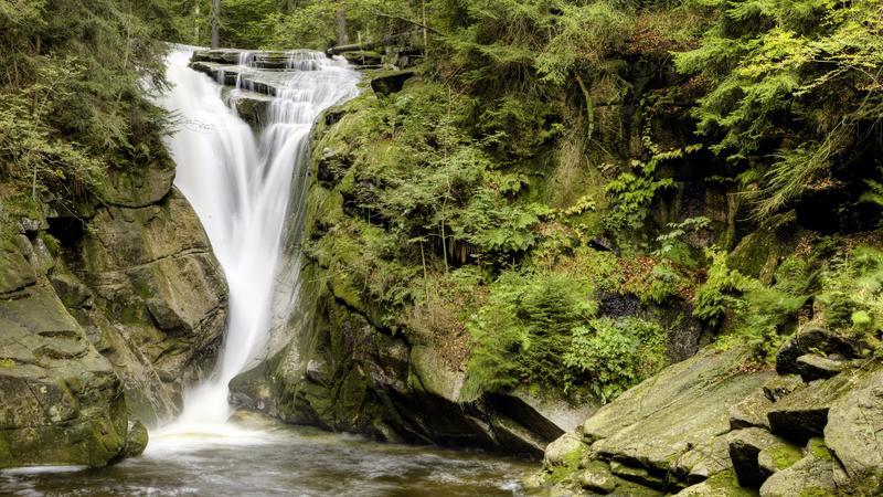 Wodospad Szklarki, Karkonosze