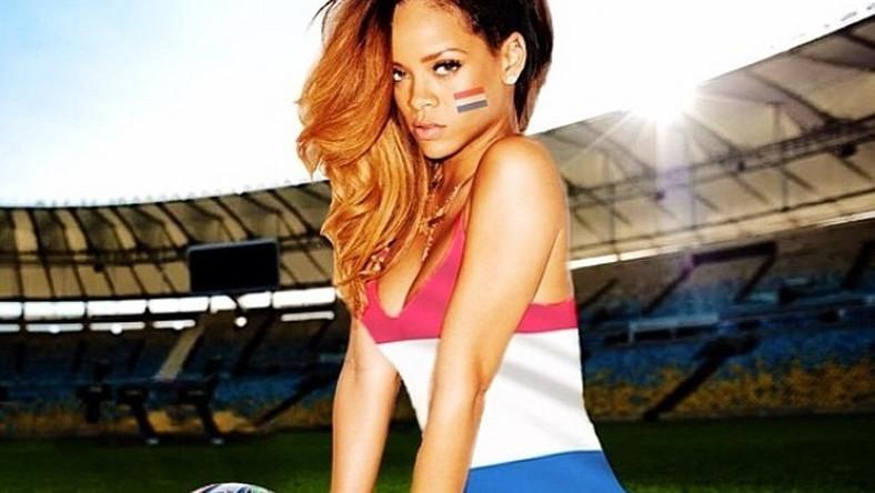 Rihanna wybrała się do Rio de Janeiro na finałowy mecz między Niemcami i Argentyną. Gwiazda kibicowała Niemcom, czego wyraz dała zamieszczając posty na Twitterze