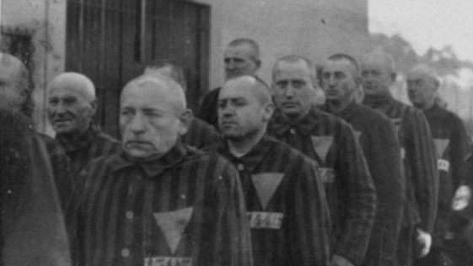 Więźniowie z różowymi trójkątami, KL Sachsenhausen, 19 grudnia 1938