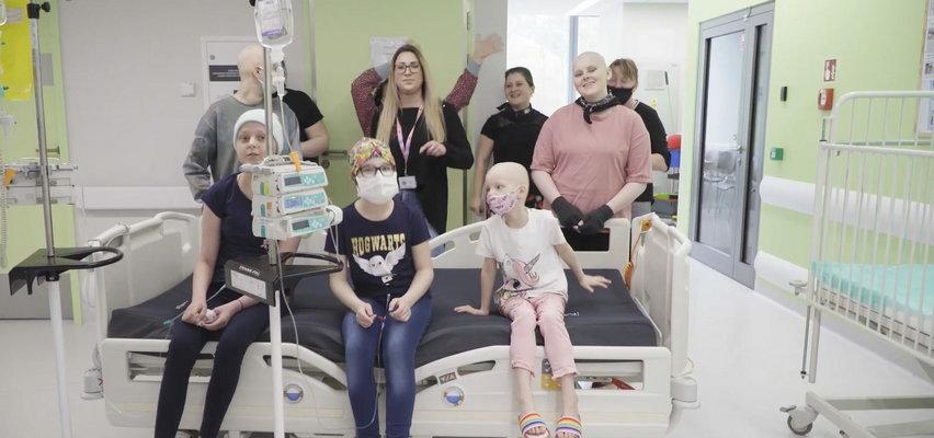 Niezwykła akcja małych pacjentów z Kliniki Pediatrii, Hematologii i Onkologii UCK w Gdańsku.
