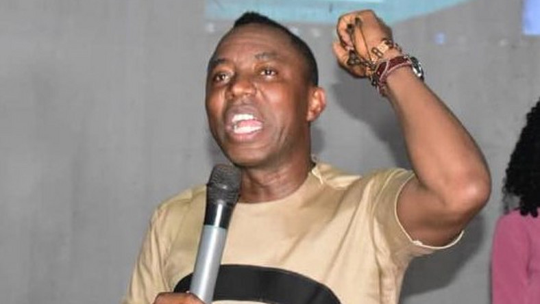 Image result for FG charges Sowore with treason, accuses him of insulting Buhari