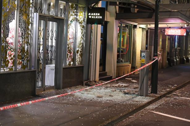 Nowa Zelandia trzęsienie ziemi