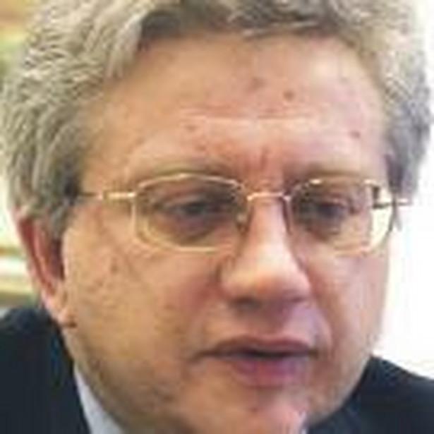 Prezes PKO BP Jerzy Pruski zapowiada wzrost akcji depozytowej o grube miliardy złotych, bo ze względu na kompleksowość usług bank jest w stanie przyciągnąć nowych klientów Fot. FORUM