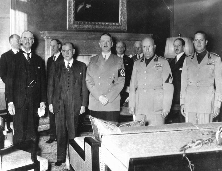 Munich, September 1938, Peace Conference